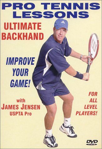 """Pro Tennis Lessons \""""Ultimate Backhand\"""" >>> Read more reviews of the product by visiting the link on the image."""