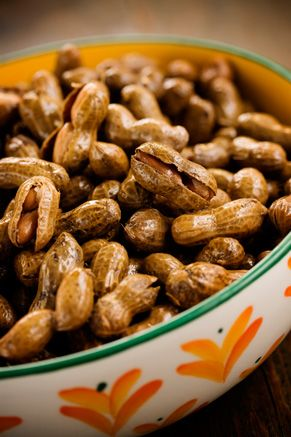 Paula Deen Becky Polk's Boiled Peanuts    So doing this for Super Bowl Sunday!