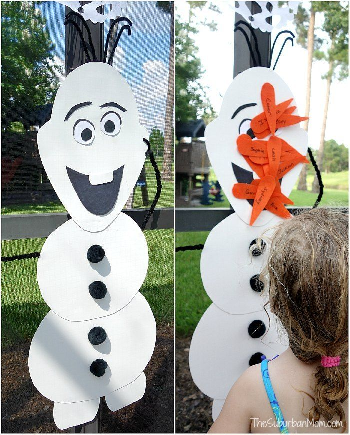 Frozen Birthday Party Decorations, Food, Games, Printables