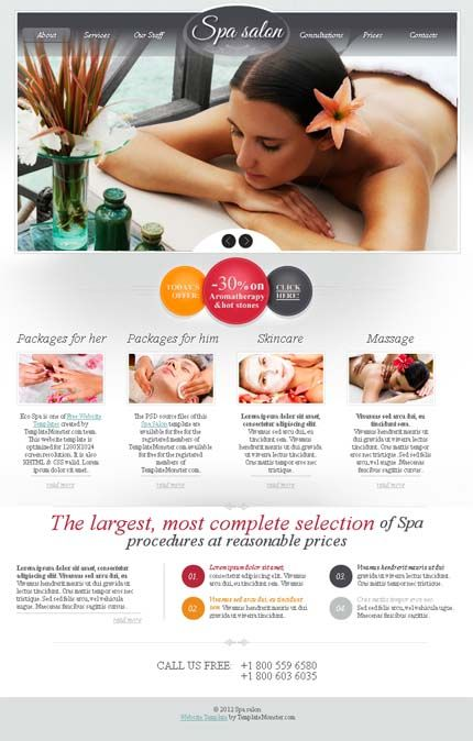 10 best images about Beauty Spa Brochures on Pinterest ...