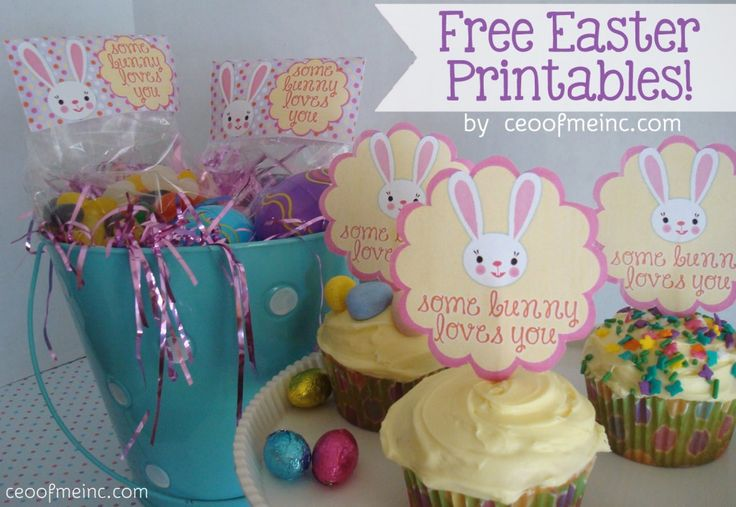 #Easter Ideas – Free Printable Easter Bag Toppers and Cupcake Toppers http://ceoofmeinc.com/easter-ideas-free-printable-easter-bag-toppers-and-cupcake-toppers/