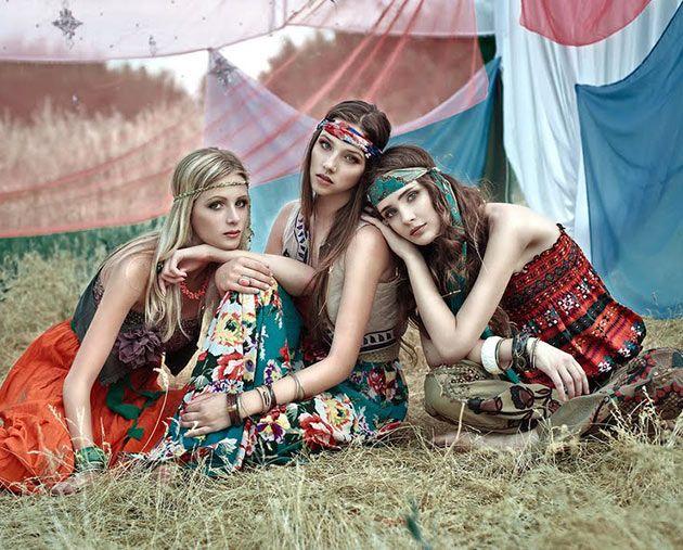 How to Wear Hippie Fashion Trend  #hippie #hippiefashion
