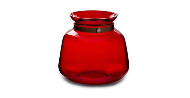 59 / Bouquet Ruby Red Vase