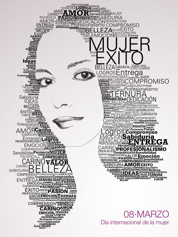 Día internacional de la mujer. 2011. by Mariano Serrato Lima, via Behance