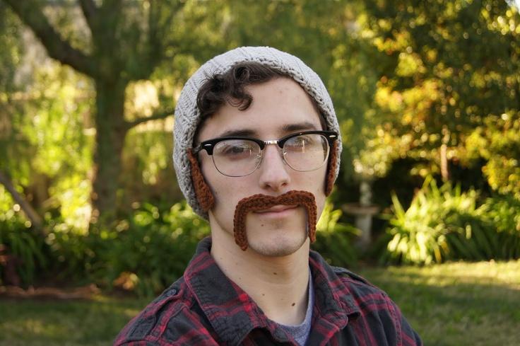 I love fake mustaches
