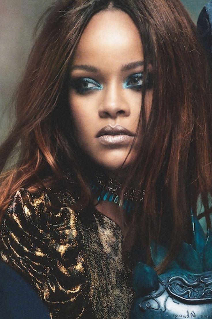 Rihanna for Vogue Arabia Magazine. (November 2017)