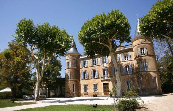Fairytale château in Provence