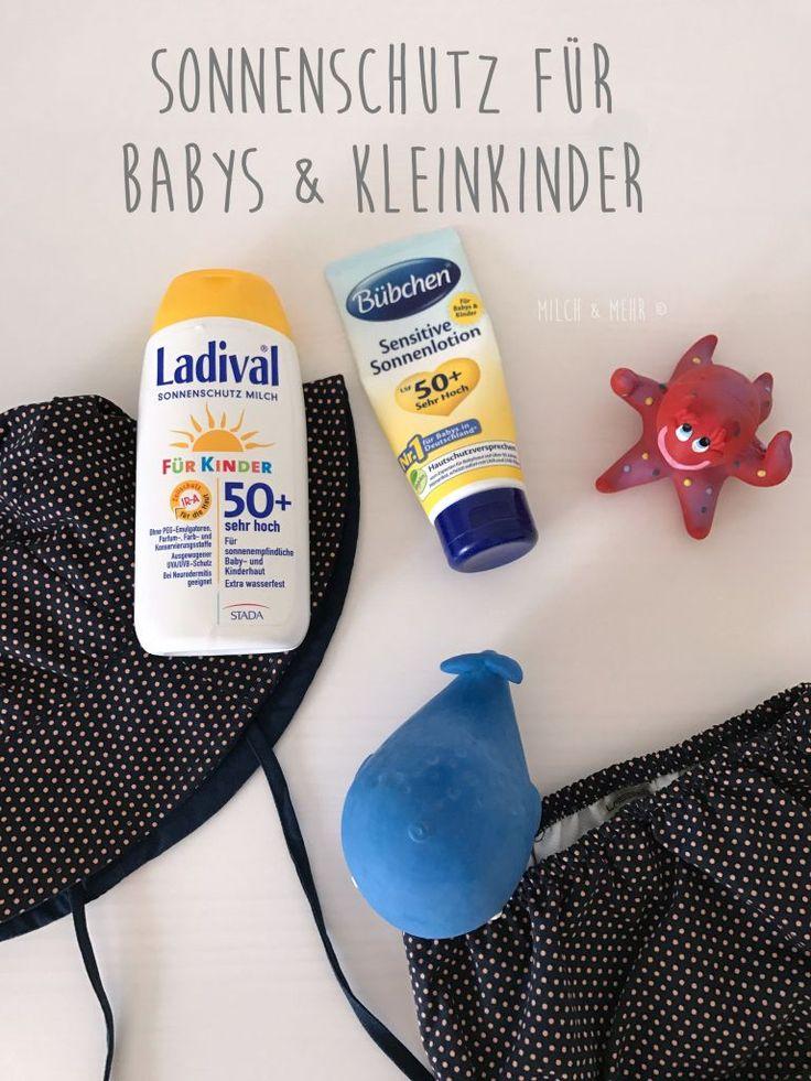 Sonnenschutz Baby Kleinkind | welche Sonnencreme ist die richtige? Muss UV-Kleidung sein? Brauchen Babys Sonnenbrillen? Was tun bei Sonnenbrand? | ein kleiner Guide...