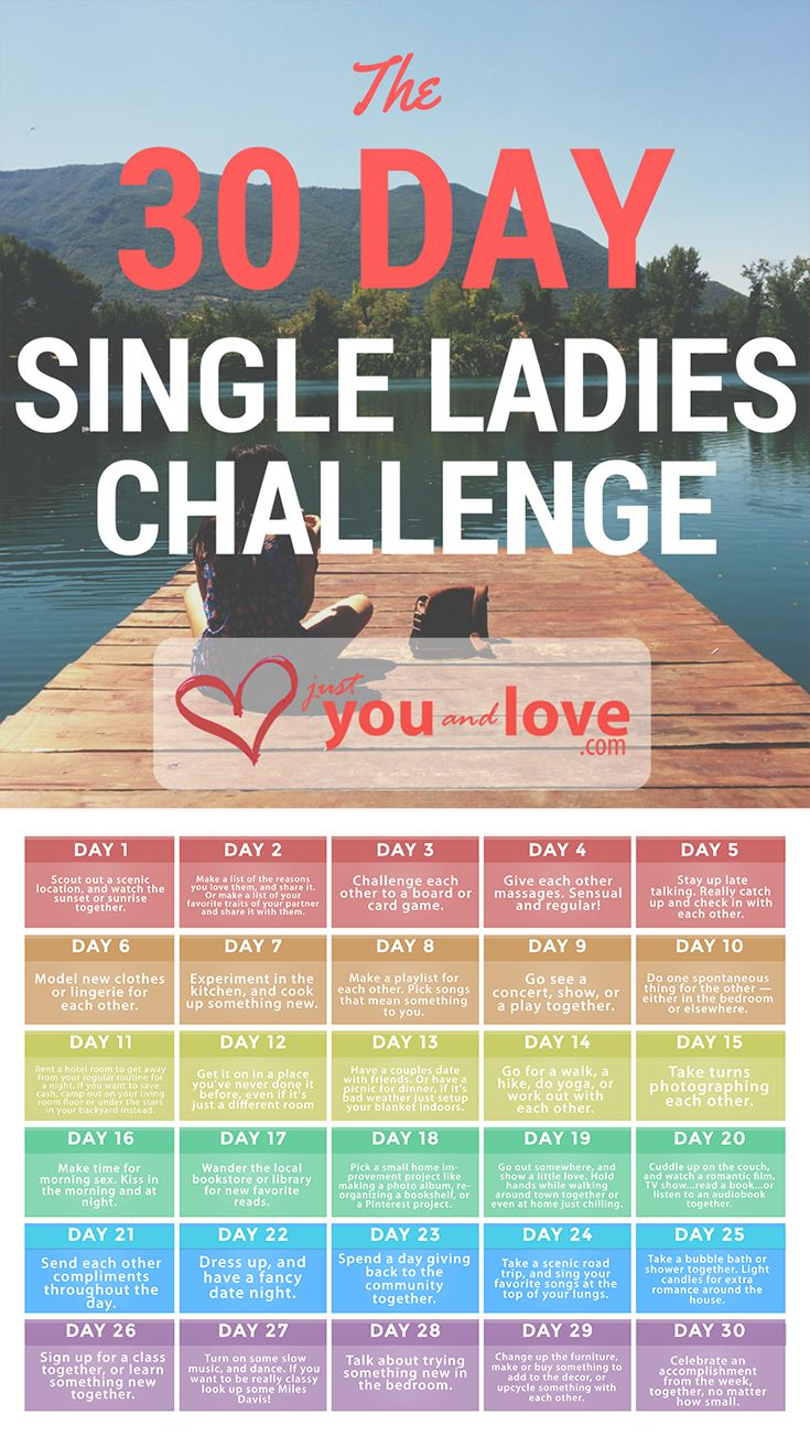 FREE PDF INSIDE! This 30 Day Single Ladies Challenge will help any single woman feel more confident. What's the best 30 things you can do in 30 days? Find out…