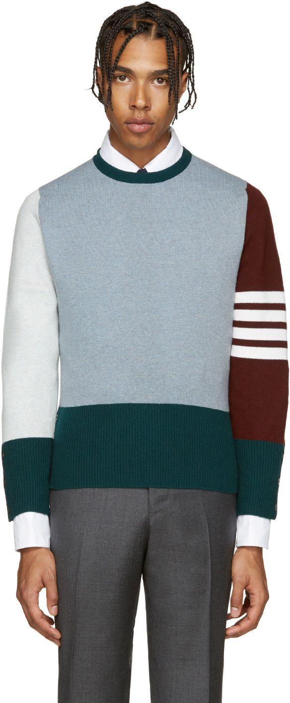 Thom Browne - Multicolor Cashmere Funmix Pullover