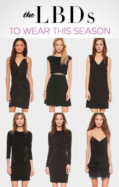8 Little Black Dresses You Need This Season