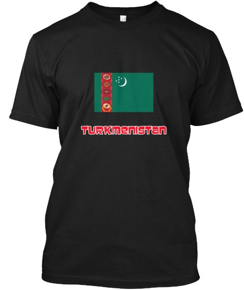 Turkmenistan Flag Retro Red Design Black T-Shirt Front - This is the perfect gift for someone who loves Turkmenistan. Thank you for visiting my page (Related terms: I Heart Turkmenistan,Turkmenistan,Turkmenistani,Turkmenistan Travel,I Love My Country,Turkmenistan F #Turkmenistan, #Turkmenistanshirts...)