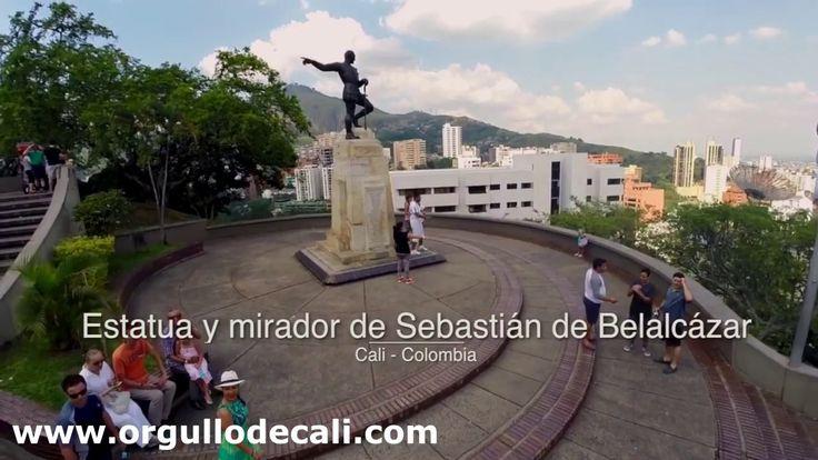 Monumento a Sebastián de Belalcázar- #Cali - #ValledelCauca - #Colombia