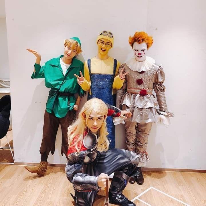 Nct 2020 Halloween Stray Kids & NCT Reactions   (WWYW) NCT U  Halloween Costume (Part