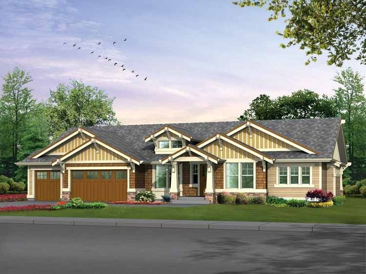 10 best floor plans images on pinterest ranch home plans for Eplans craftsman bungalow 11192