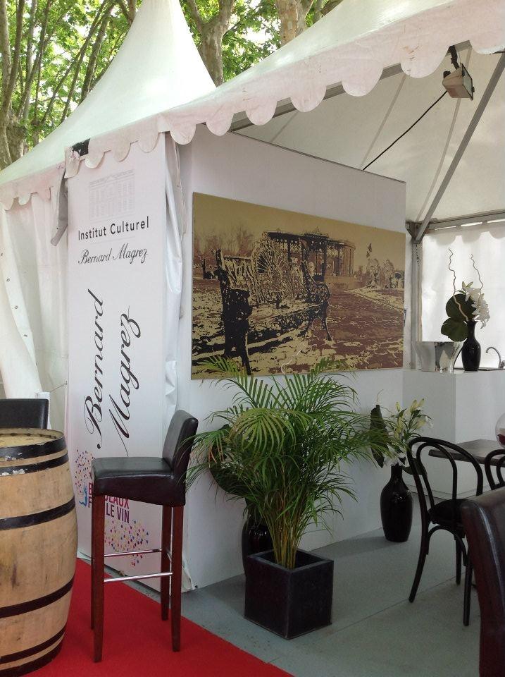 #exhibition - fête du vin #Bordeaux -Bernard Magrez stand