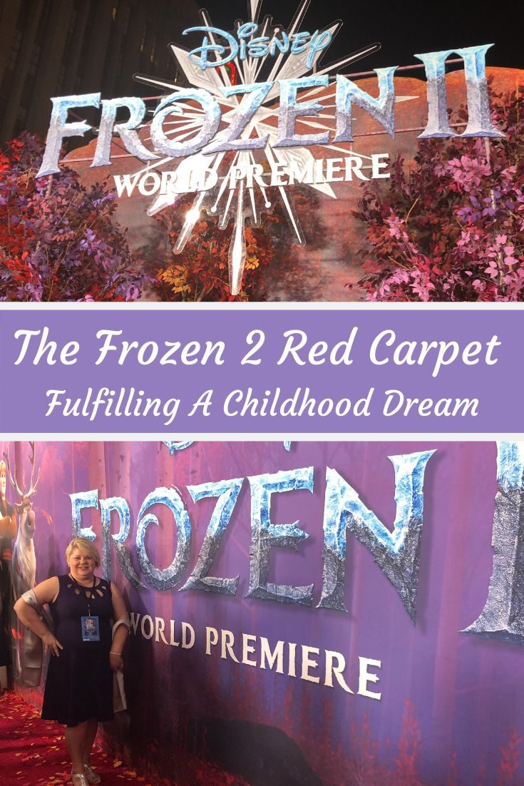Frozen 2 Red Carpet Experience | Footprints in Pixie Dust ...