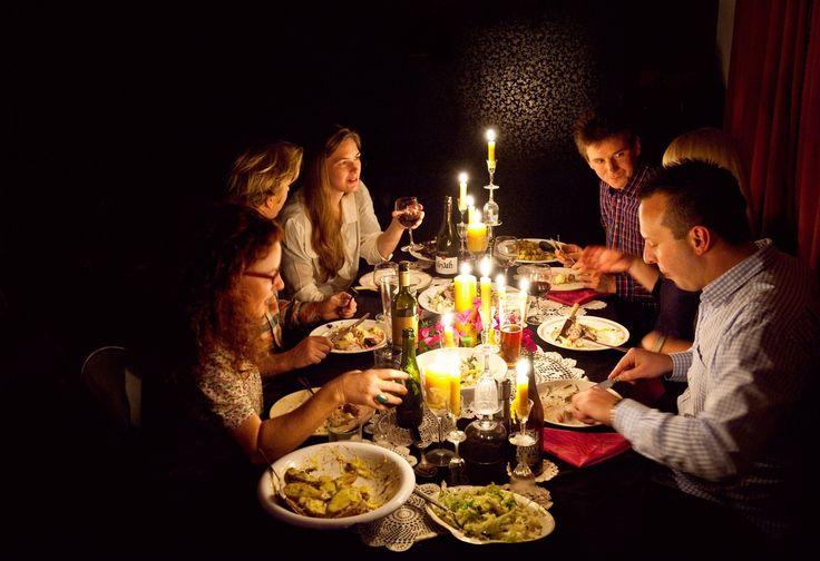 Midwinter dinner party | Good Magazine Photography Amanda Reelick