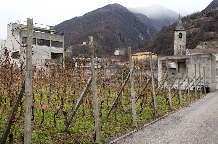 Casa Guidotti, Monte Carasso, Switzerland, 1984, Luigi Snozzi