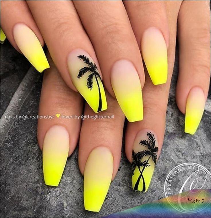 Apr 16 2020 Acrylic Nail Designs 809240626781985407 60 Magnaficas Ua As De Acralico Amarillas Natu In 2020 Yellow Nails Design Coffin Nails Designs Yellow Nails