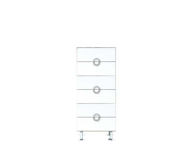 Мебель BRW RINGO. Комод S61-KOM 6s/5/12 белый блеск