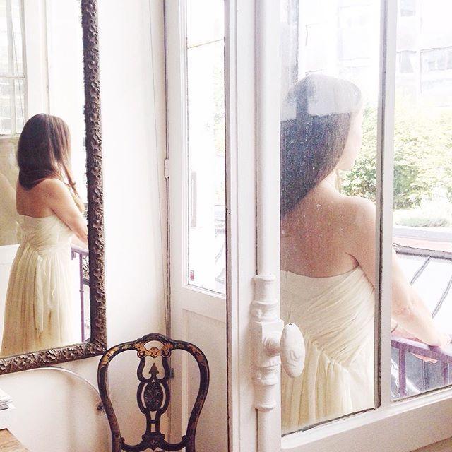 Gorgeous capture of the Athena gown in ivory. #elikainlove #elikainparis #weddings #bridal #paris #etsy #bohemian #boho #dress    #Regram via @elika.in.love