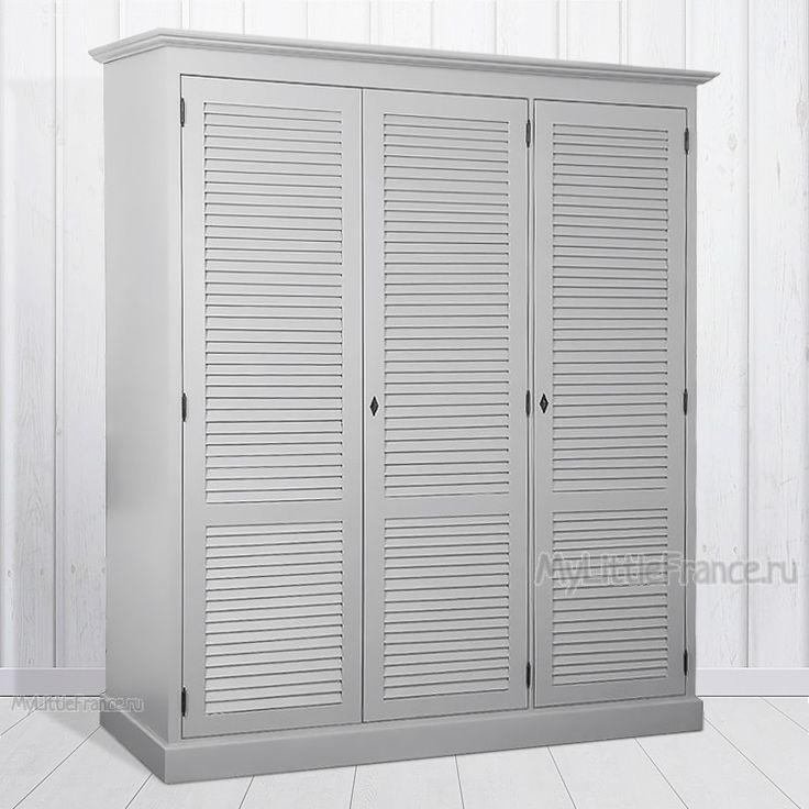 Платяной шкаф Shannon III - Шкафы для одежды - Спальня - Мебель по комнатам My Little France