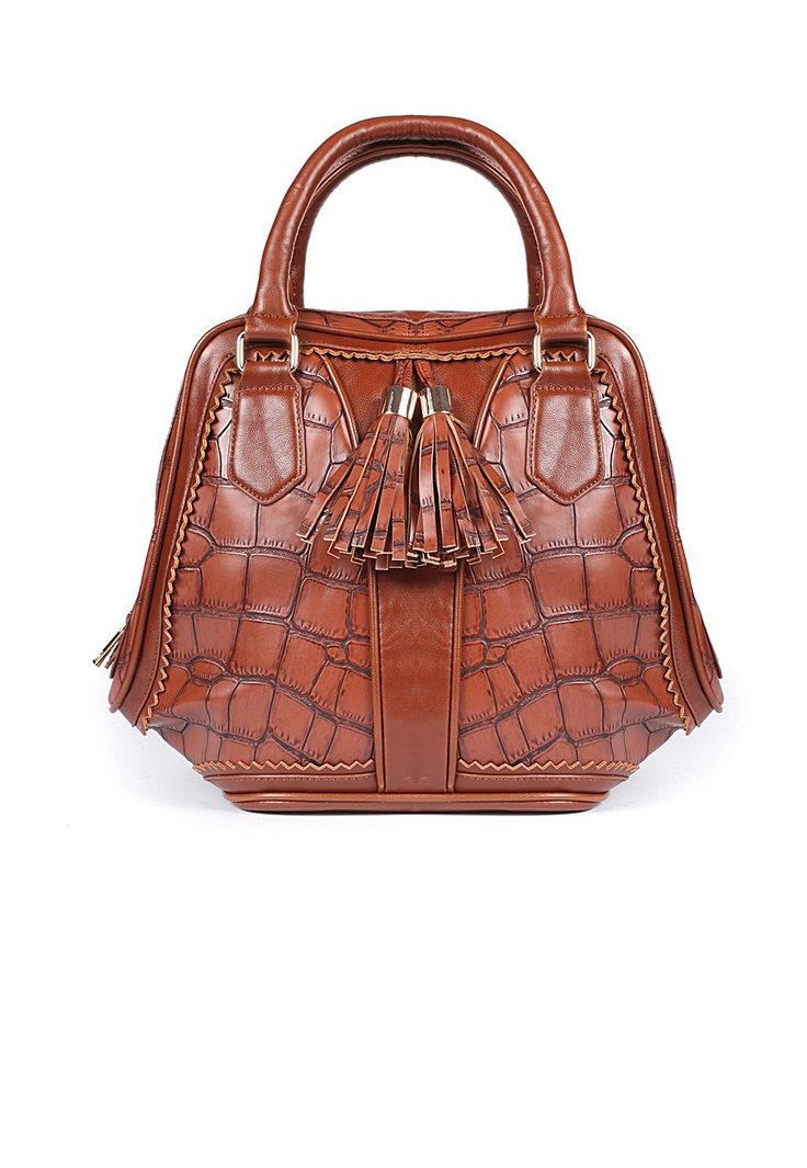 Rouela Faux Croc Tassel Day Bag from MissGuided (missguided.co.uk)