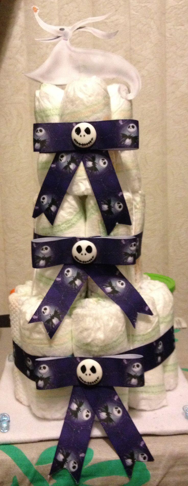 jack o 39 connel skellington diapers jack skellington baby shower
