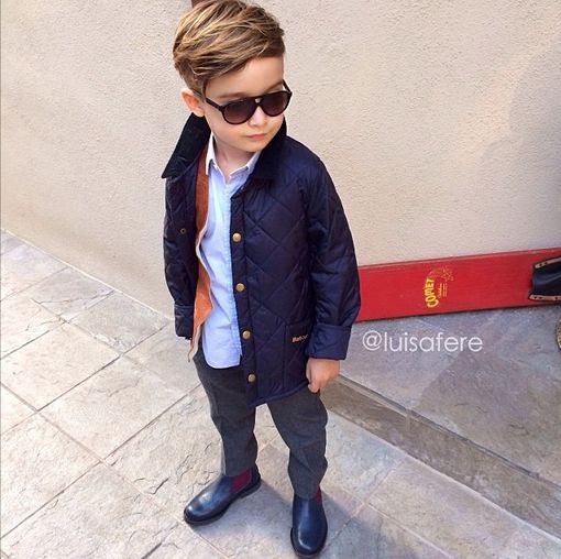 Little Boys In Chelsea Boots Boy Outfits Kids Fashion