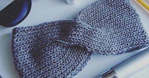 Hoje decidimos compartilhar uma receita de uma peça que está em alta - As Headbands! As faixas para a cabeça de tricô são super charmosas...