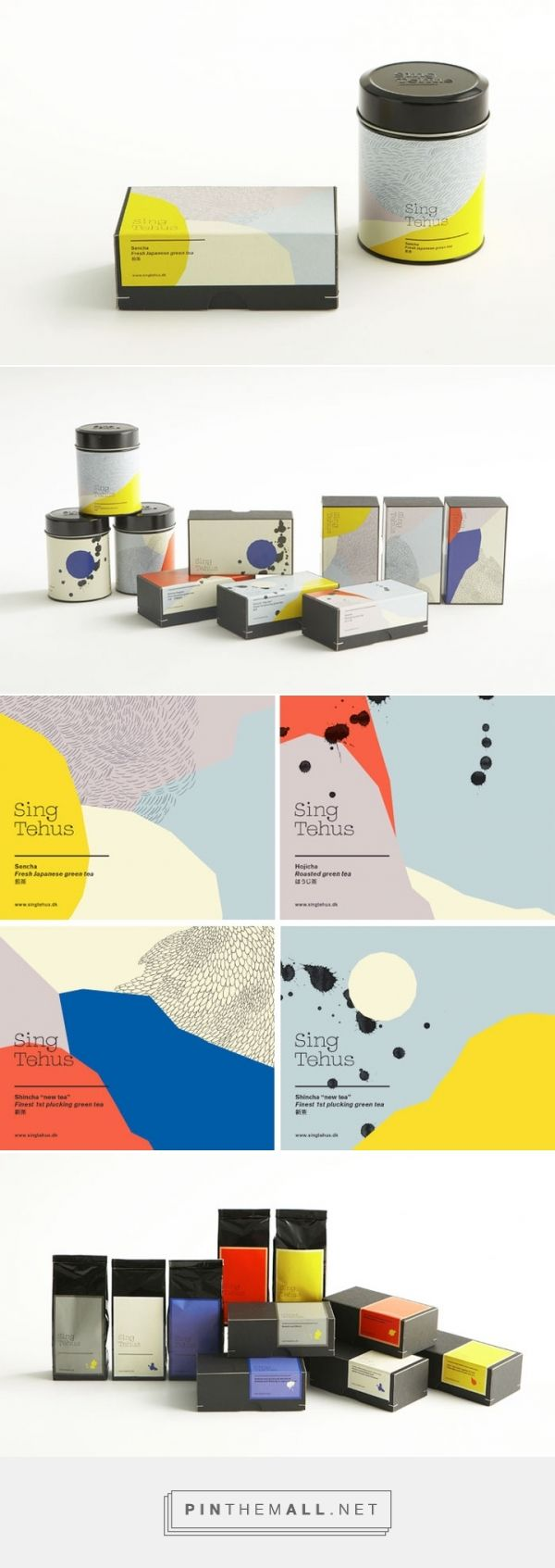 Sing Tehus - Japanese Tea Packaging Design