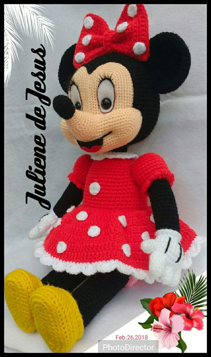 mickey bebe amigurumi tutorial - YouTube | 1244x736