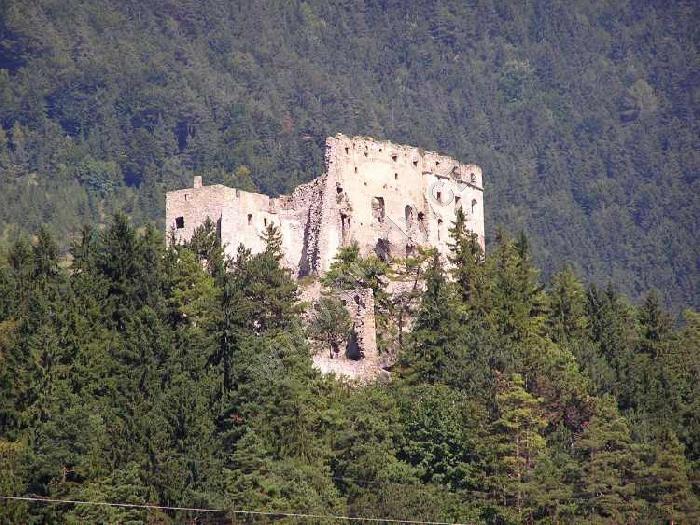 Likava castle - Likavsky hrad in Likavka, near Ruzomberok