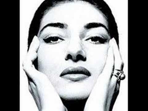 "Maria Callas ""Mon coeur s'ouvre a ta voix "" - YouTube"