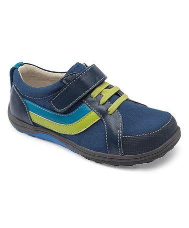 Look what I found on #zulily! Blue & Green Odin Sneaker #zulilyfinds
