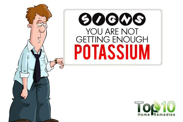 6. Mental or Emotional Issues Potassium is important for mental health and brain function. It helps maintain the electrical conductivity of the brain and nerve transmissions. Plus, it plays a key role in transporting serotonin, a neurotransmitter that promotes feelings of well-being and happiness. This is why a low potassium level can contribute to confusion, …