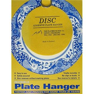 Great for displaying plates - no show way to keep them on wall