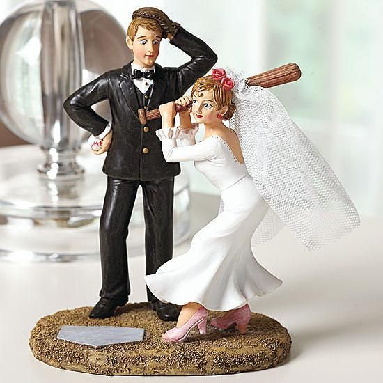 where to I buy this cake topper?!?!   Wedding Sports Baseball Cake Topper Figurine Toppers