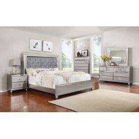 7 Piece Bedroom Group Glam Furniture Decor Bedroom Dressers