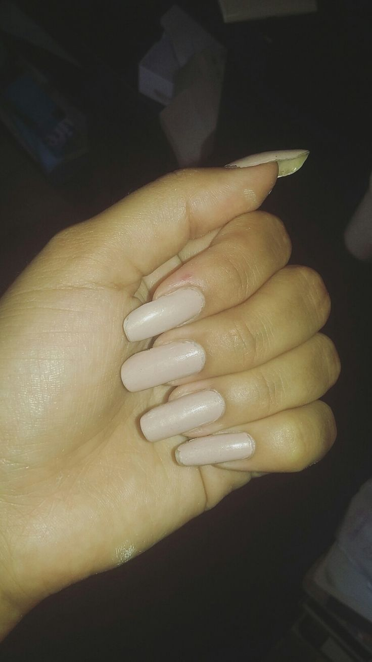 @babis_vieira #bignails #naturalnails #nude
