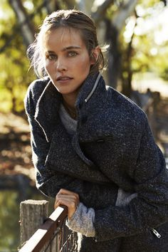 Country Road Australia Wear - with - anything - coat Isabel Lucas - LOVE IT !