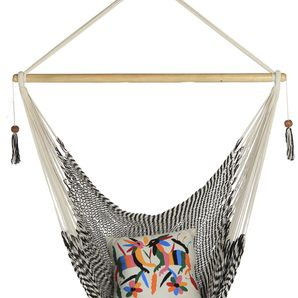 Zebra Handmade Hammock Chair -Large