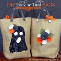 DIY Trick or Treat Bags: Tricks Or Treats Bags, Sewing Projects, Treat Bags, Diy Tricks, Adorable Diy, Bags Patterns, Halloween Fall Thanksgiving, Scrap Shoppe, Fall Diy Totes Bags