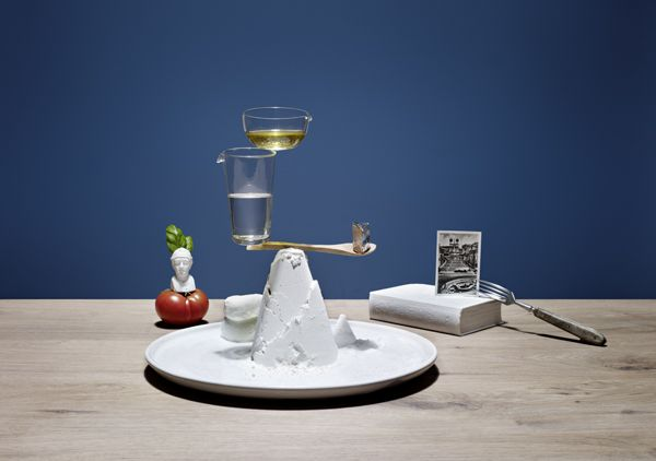 Elena Mora teamed up with photographer Karsten Wegenerto create this splendid series, Ricettario: A Balanced Diet