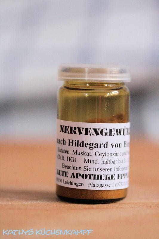 Das Nervengewürz nach Hildegard von Bingen neu entdeckt