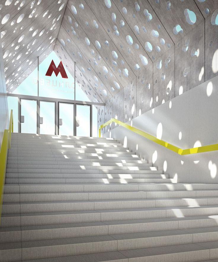Nefa Architects Chosen to Redesign Moscow's Solntsevo Metro Station