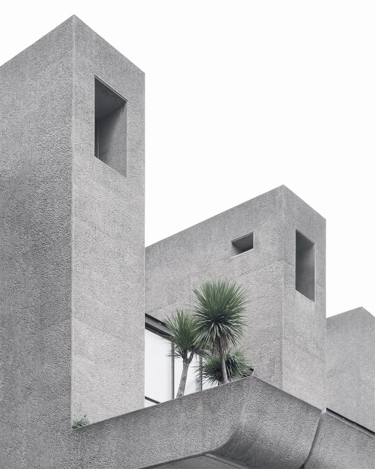 Barbican center, a brutalist landmark in London photographed by Minorstep.