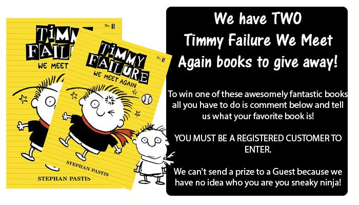 Click here to comment and enter! http://readerswarehouse.co.za/timmy-failure-competition