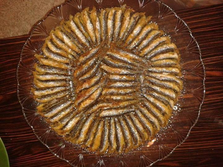 hamsi tava - turkish food - türk yemekleri